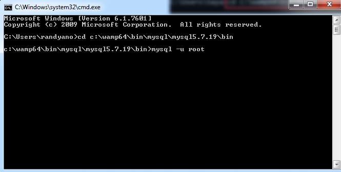 Akses MySQL