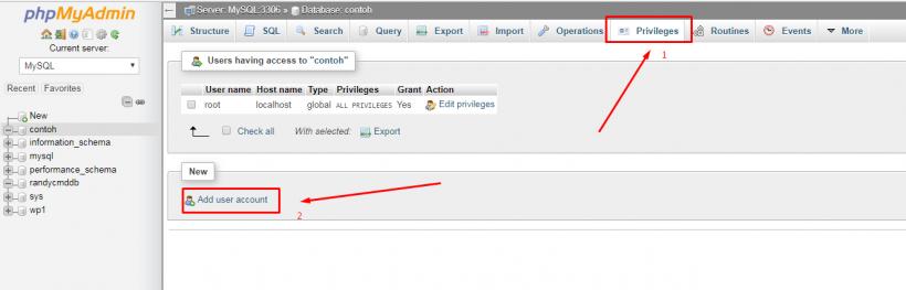 Cara Membuat Database Mysql Dengan Phpmyadmin Di Localhost Menggunakan Wampserver Theme Id