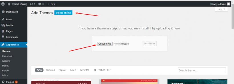Unggah Theme WordPress