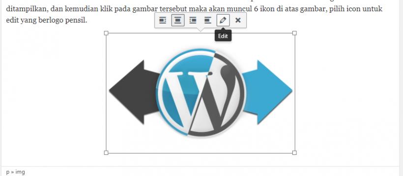 Edit Title Image WordPress