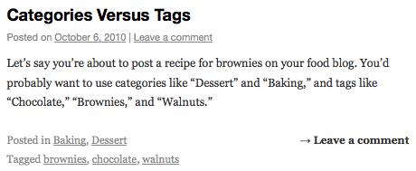 Perbedaan Antara Category dan Tag di WordPress